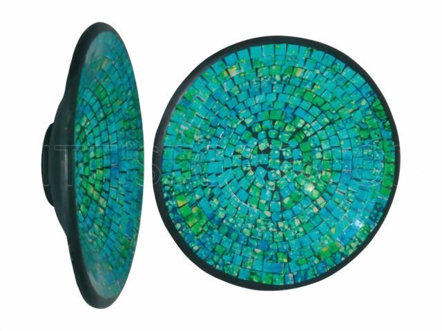 Deko-Schalen / Mosaique-Schale grün-türkis