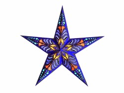 Bild von starlightz ramadasa blue earth friendly Leuchtstern