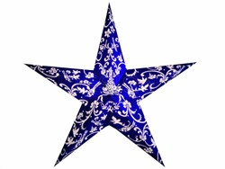 Bild von starlightz rokoko blue/white earth friendly Leuchtstern