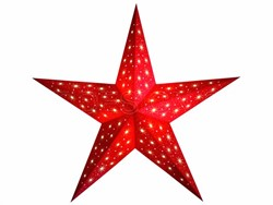 Bild von starlightz starlet red earth friendly Leuchtstern